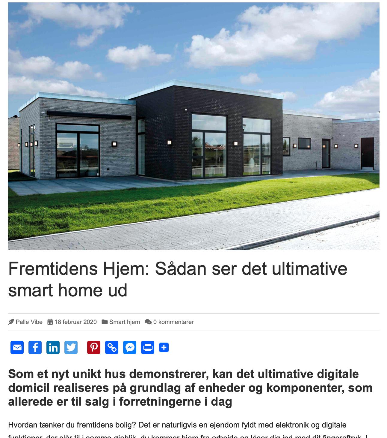 AoD: Sådan ser det ultimative smart home ud